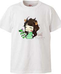 【メイキャスキャラ アイ・バニー(バニ子)】ハイクオリティーTシャツ|5001-01