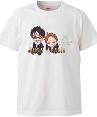 【メイキャスキャラ MUGA&パリオ】ハイクオリティーTシャツ|5001-01