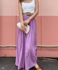 Rinen pleats skirt