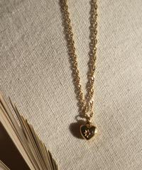 [再入荷]Heart Twist Chain Neckless