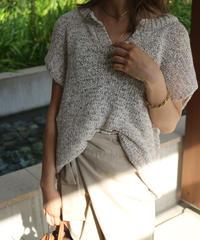 V cut Summer Knit