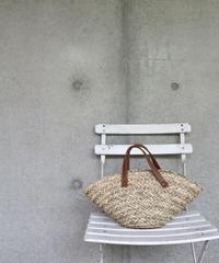 [LAST] Mini Rafia & Lether Bag