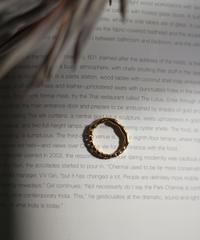 W Design Gold Ring