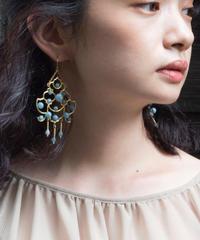 chandelier series vol.3 pierce & earring (brass) <20ss-ac-01-br-p/e>