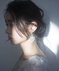chandelier series vol.5 pierce & earring (silver) <21sp-ac-01-si-p/e>