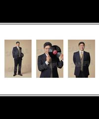 舞台「ラストレインフィッシュ」RUST RAIN FISH Team White 竹井亮介 パネル3枚1組(単品)