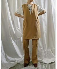 【pre fall】mini jumper skirt  (beige)