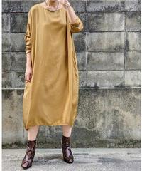 【pre fall】cupra dress  (camel)