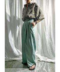 zebra big shirt (brown)