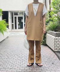 mini jumper skirt  (beige)