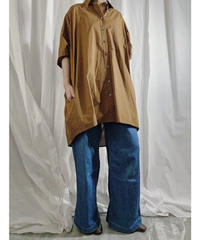【pre fall】BIG  SHIRT  ( camel )