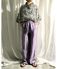 zebra big shirt (black)