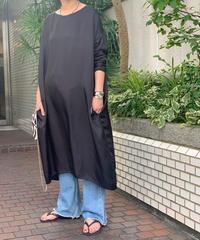 【pre fall】cupra dress  (black)