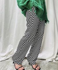 checker easy pants(black) 36サイズ