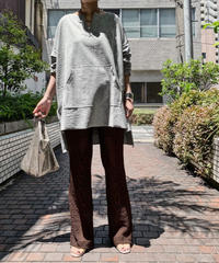 cut over tunic (gray)