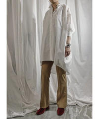 【pre fall】BIG  SHIRT  (off white)