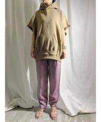 【 pre fall 】hoodie vest  (brown)