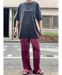 【 pre fall 】back print T-shirt  (black)