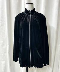 【sample sale】velour zip blouson
