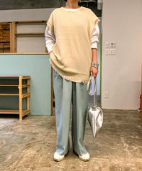 tuck pants (mint)