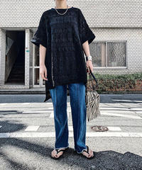 lace Tee  (black)