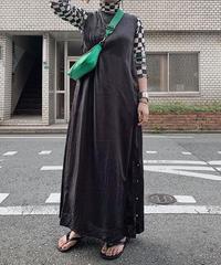 cupra NS maxi dress(black)