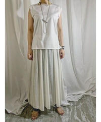chiffon switching box-tank  (off white)