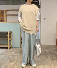 【予約商品】drawstring bag (silver)