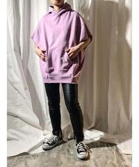 hoodie vest  (lavender)