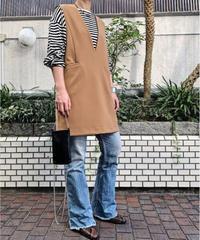 【special price】mini jumper skirt  (beige)