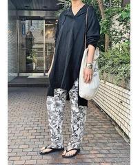 【pre fall】gauze damage hoodie   (black)