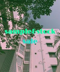 !!sample& stock sale !!