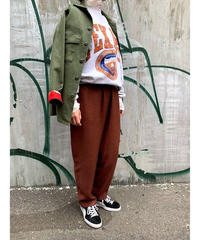 relax pants  (brown)