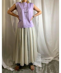 chiffon switching box-tank  (lavender)