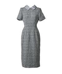 lady tweed tight dress