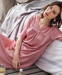 夏桜*可愛らしいサテンのパジャマホームウェア ns20200503-007