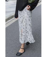 夏桜*スリム プリント スカート ns190805-14