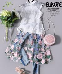 夏桜*刺繍メッシュラップジーンズns20200829-05