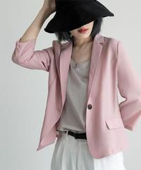 夏桜*薄い 7分 スーツジャケット ns190805-95
