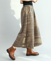 夏桜*9分丈スカートパンツ ワイドレッグパンツns20200911-04