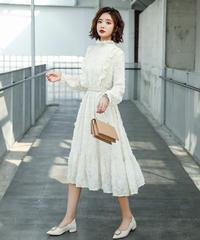 夏桜*レトロ スリム タッセル ワンピース ns190823-48
