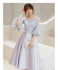 夏桜*エレガント ドレス 披露宴 二次会 パーティードレス ns190823-46