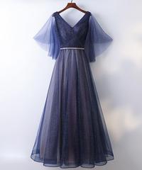 夏桜*エレガント ドレス 披露宴 二次会 パーティードレス ns190823-44