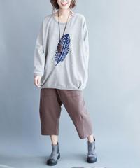 夏桜*ビックサイズ コットン Tシャツ ns190805-60