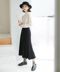 夏桜*ニット ロング スカート ns190805-20