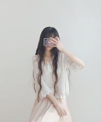 夏桜*刺繍レースカーディガン ns20200612-005