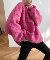 夏桜*柔らかいラムスキンのセーター ns191104-003