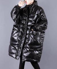 夏桜*女性のミドル丈の暖かいダウンジャケット ns191221-006
