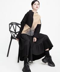 夏桜*ラグランスリーブ シャツ ルーズ レター印刷セーター ns1901013-004