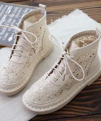 夏桜*レディースレトロなレース夏ブーツns20200502-012
